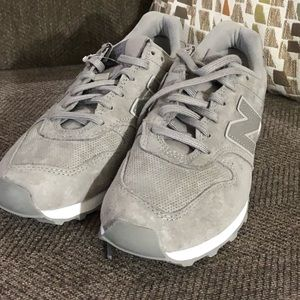 Grey new balance sneakers size 7